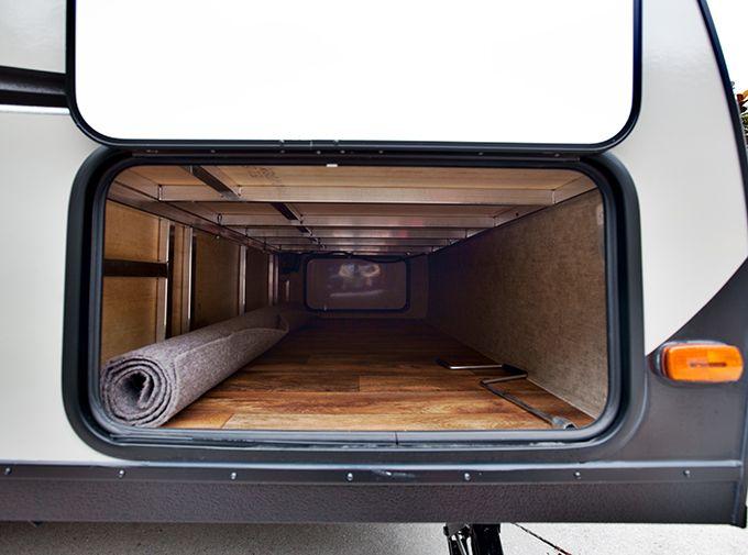 Bare Pass Through Storage