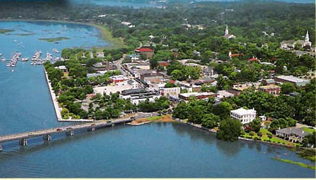 Beaufort from the Air